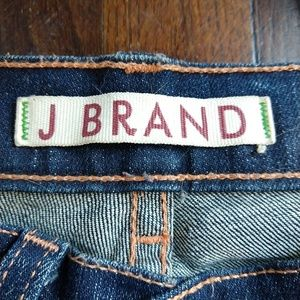 J. BRAND   118 Bootleg in Ink w/Embroidery Pockets